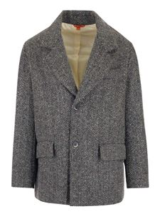 Barena Venezia - Wool and cotton blend jacket in black and white
