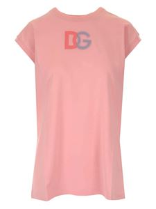 Dolce & Gabbana - Branded T-shirt in pink