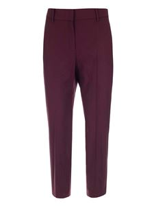 Theory - Classic pants in burgundy