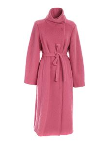 Semicouture - Single-breasted coat in pink