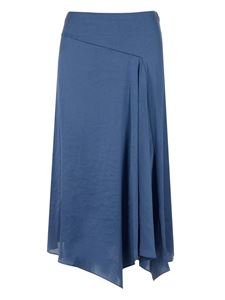Theory - Drapery skirt in blue