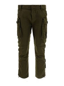 Dsquared2 - Cotton cargo pants in green
