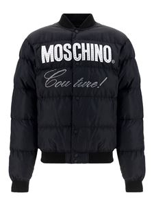 Moschino - Moschino Couture puffer jacket in black