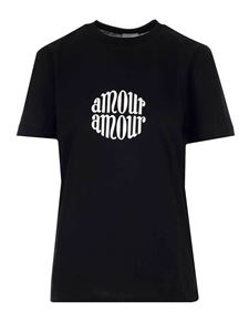 Patou - T-shirt Amour in black