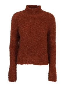 Marni - Mohaird blend turtleneck in brown