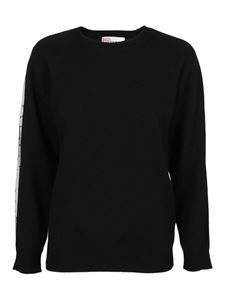 Red Valentino - Wool blend sweater in black