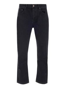 Kenzo - Tapered Cropped jeans in black