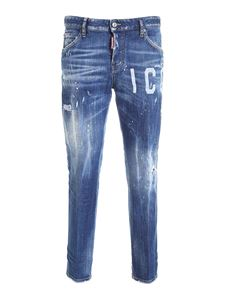 Dsquared2 - Cool Girl Icon jeans in blue