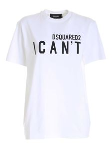 Dsquared2 - I Can't Smoke t-shirt in white