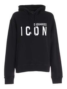 Dsquared2 - Icon hoodie in black