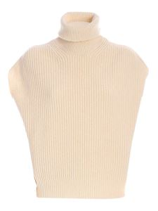 Department 5 - Kity sleeveless turtleneck in cream color