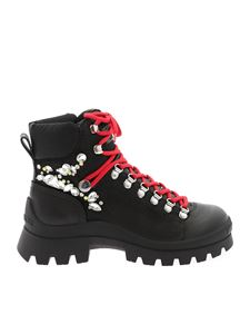Dsquared2 - Tank Hiking ankle boots in black