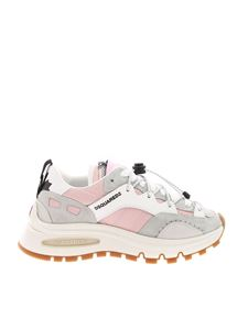 Dsquared2 - Run DS2 sneakers in pink and gray