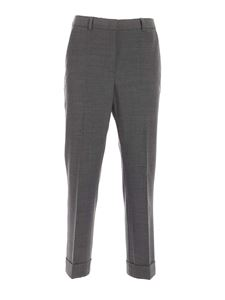 Seventy - Turned-up trousers in gray