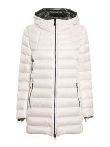 Colmar Originals - Quilted padded coat in white