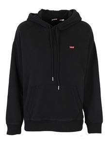 Levi's - Cotton hoodie in black