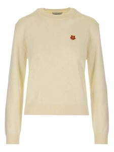Kenzo - Tiger Crest sweater in white