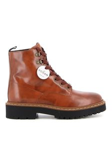 Hogan - H543 ankle boots in brown