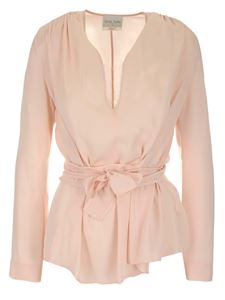 Forte Forte - Crepe marocain blouse in pink