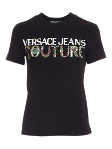 Versace Jeans Couture - T-shirt logo nera