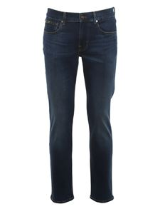7 For All Mankind - Jeans Slimmy Tapered blu