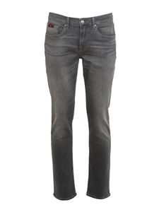 7 For All Mankind - Jeans Slimmy Tapered grigi