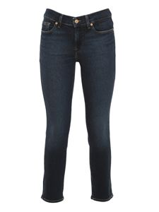 7 For All Mankind - Jeans Roxanne Ankle blu