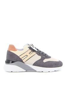 Hogan - Active One H Canaletto sneakers in grey