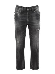 Dondup - Jeans Koons nero sbiadito