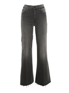 Mother - The Tomcat Roller Fray jeans grigio