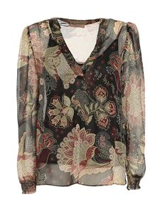 TWINSET - Indian Flower printed blouse