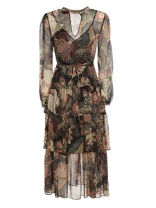 TWINSET - Indian Flower printed maxi dress