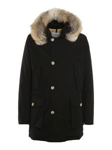Woolrich - Arctic Parka padded coat in black