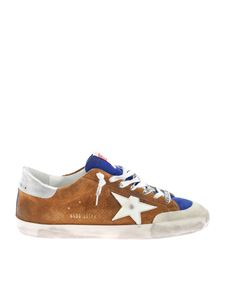 Golden Goose - Super Star sneakers in brown and blue