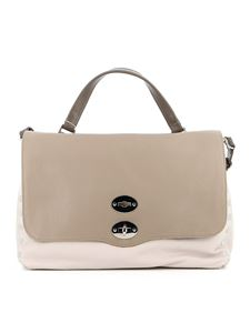 Zanellato - Postina M Daily leather bag in ivory and beige color