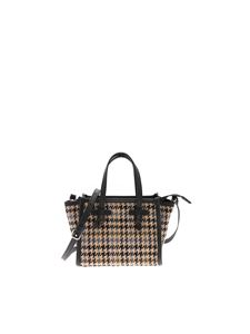 Gianni Chiarini - Miss Marcella houndstooth bag in beige