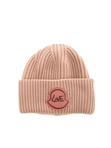 Moncler - Love beanie in pink