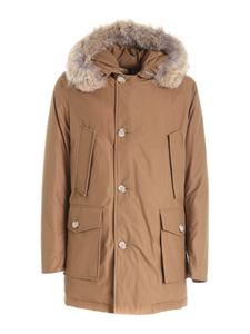 Woolrich - Arctic parka in camel color