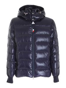 Moncler - Cuvellier down jacket in blue