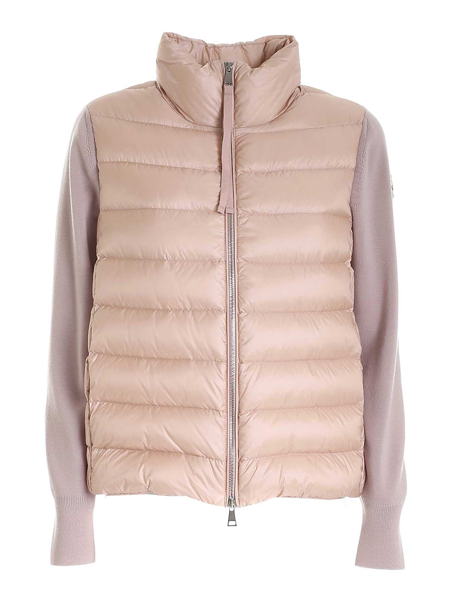 Moncler Tricot Cardigan In Pink