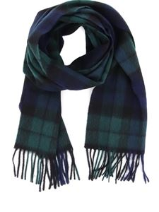 Barbour - New Check scarf in blue