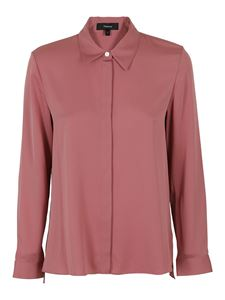 Theory - Silk shirt in pink