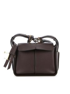 Tod's - Pebbled leather bag in brown