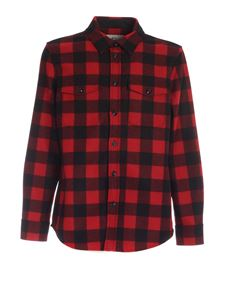 Woolrich - Check print shirt in red and black