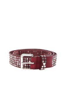 HTC - 5000 Studs Color belt in red