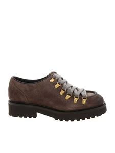 Doucal's - Shoes in dove gray color