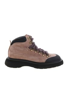 Doucal's - Suede shoes in Powder color