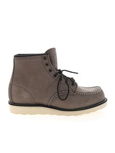 Red Wing shoes - Classic Moc ankle boots in Slate color