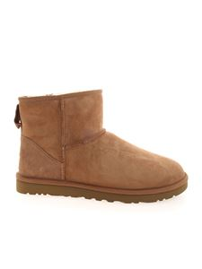 UGG - Classic Mini ankle boots in light brown