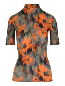 Off-White - Abstract Floral Print top